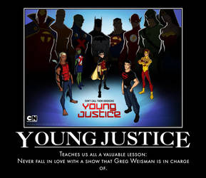 Young Justice Demotivational