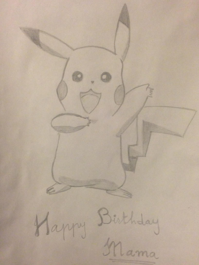 Pikachu! by cloudedumar