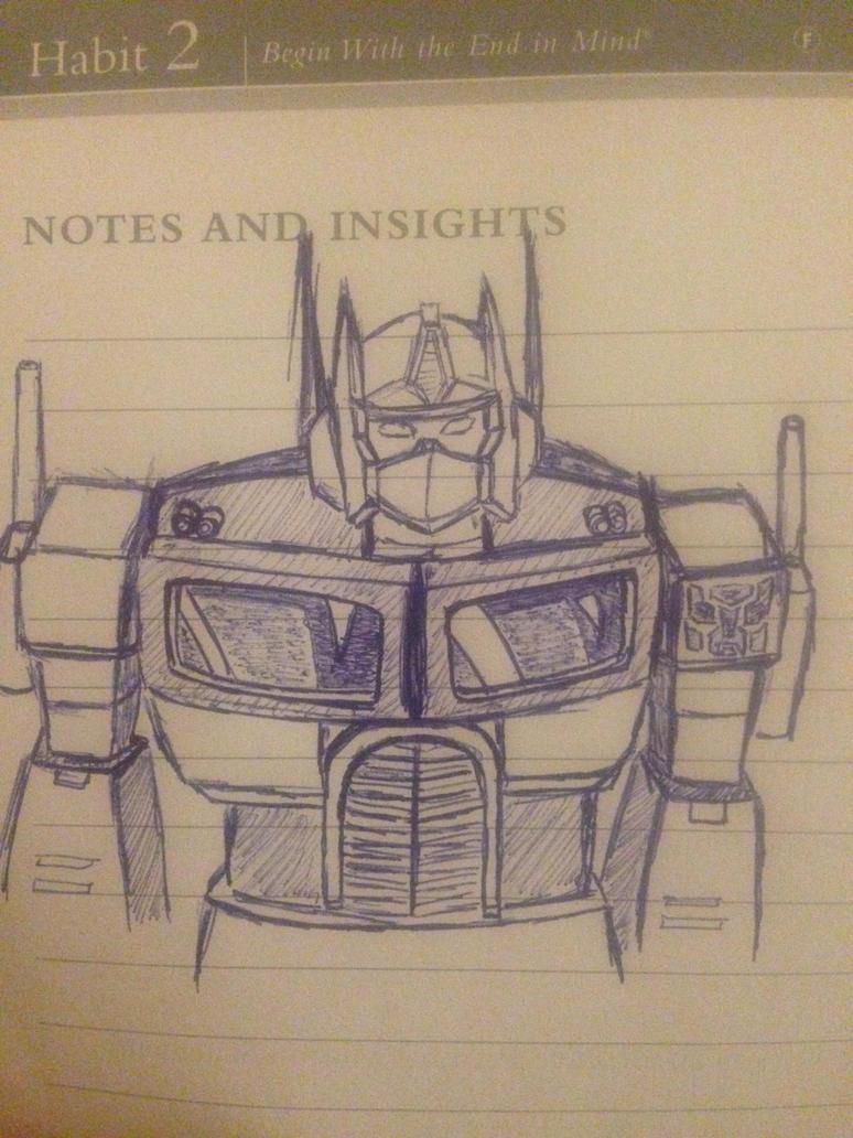 Optimus Prime by cloudedumar