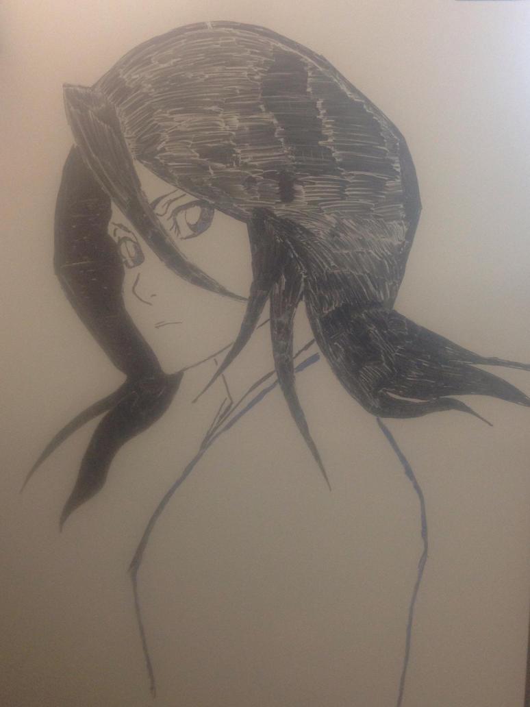 Rukia by cloudedumar