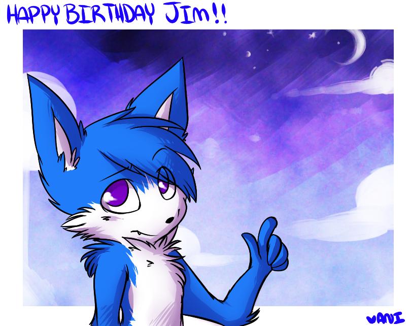 happy birthday by fallingstarrs