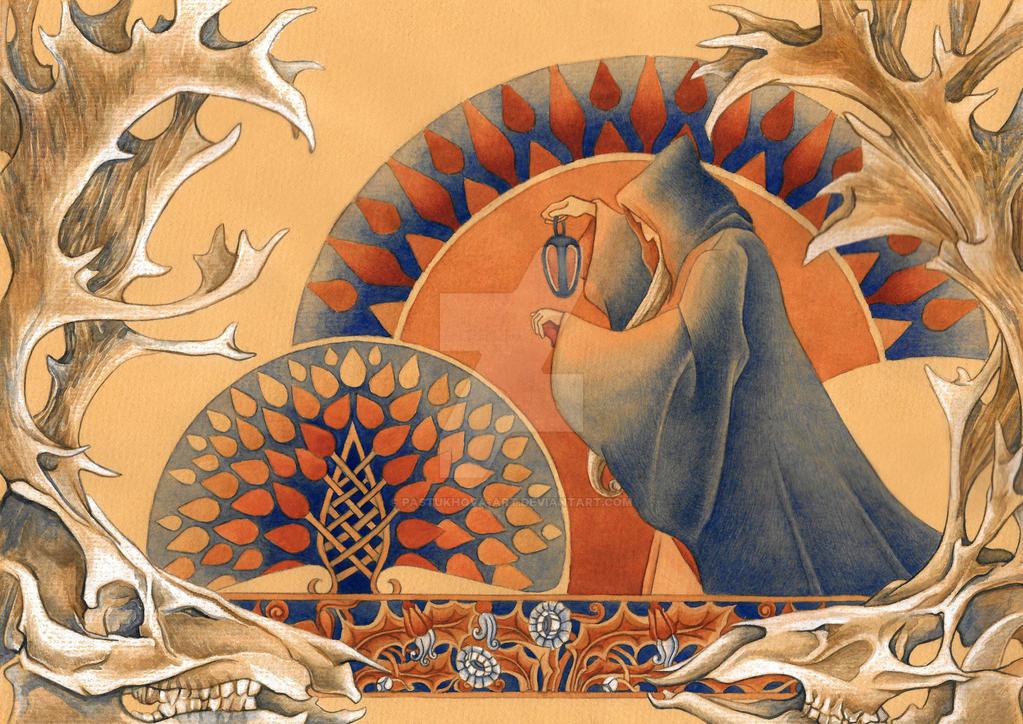 Hermit by Pastukhova-art