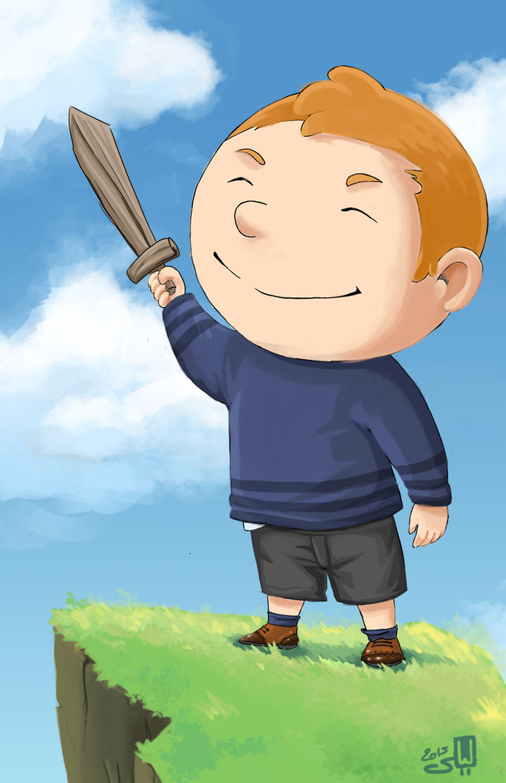 Little Big Guy by Katephos