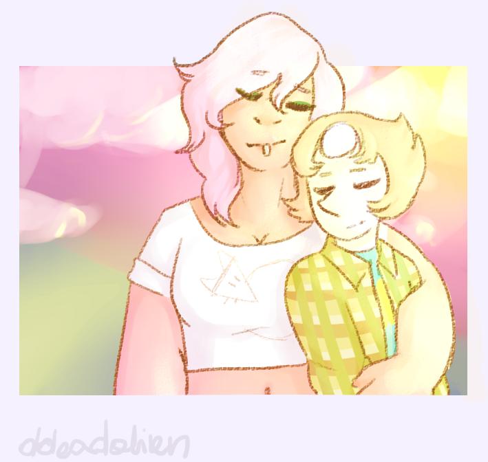 woo two cute lesbians <3 Steven Universe belongs to Rebecca Sugar
