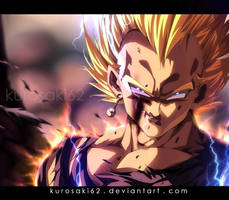 Vegeta Super Saiyan Photoshop Video