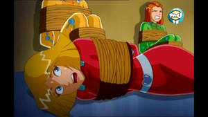Totally spies strongly tied up 10