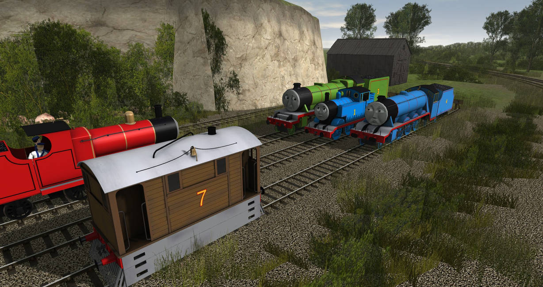 Engine Meeting by TalesOfTheNWR on DeviantArt