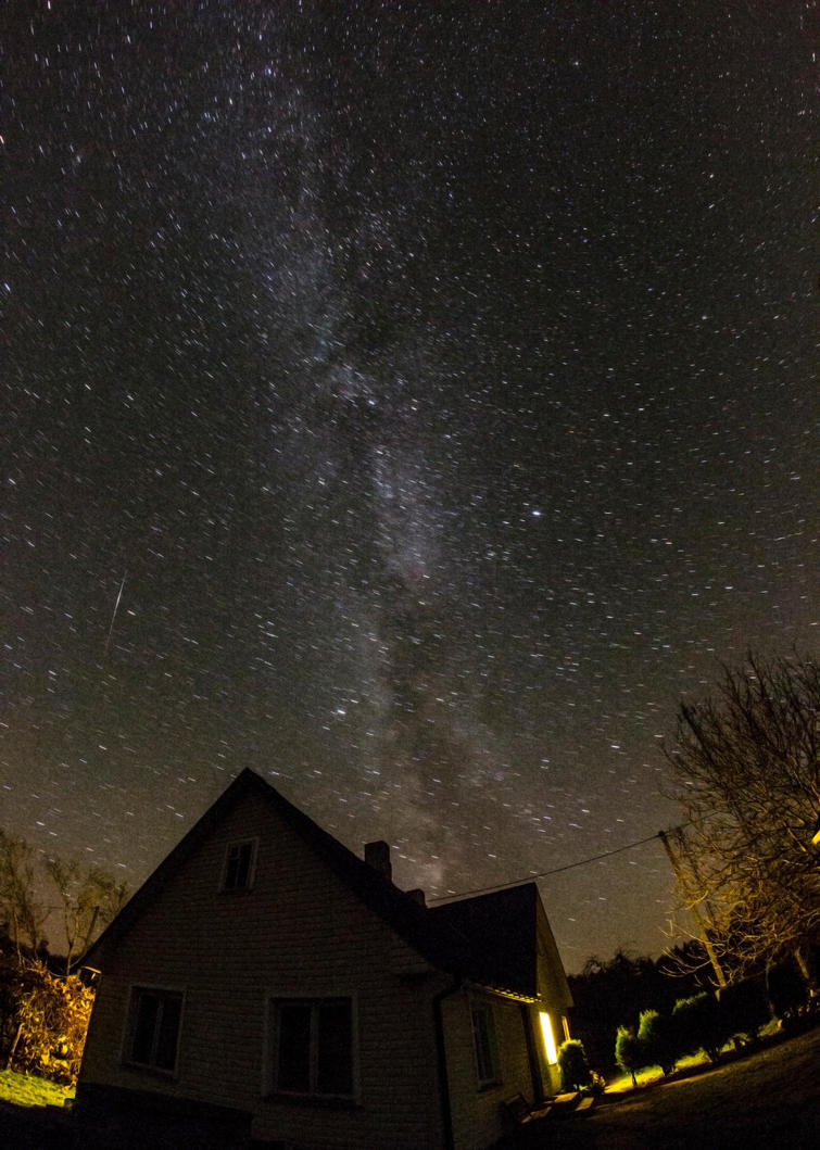 Stars over my house by EvalCo