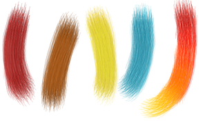 Realistic Hair Sai Brush Tool
