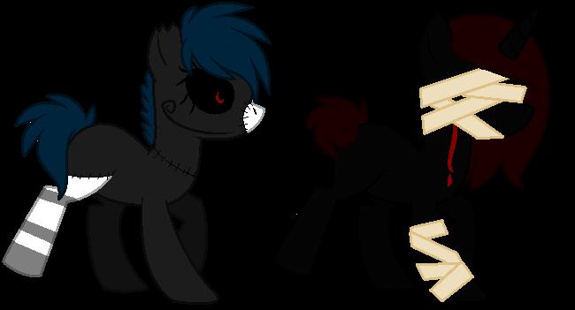 Demonic Pony Adopts   Closed by xx-BREAKTHEBEAT-xx