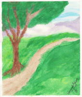 Meadow Trail by streboradnama
