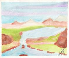 Mountain Lake by streboradnama