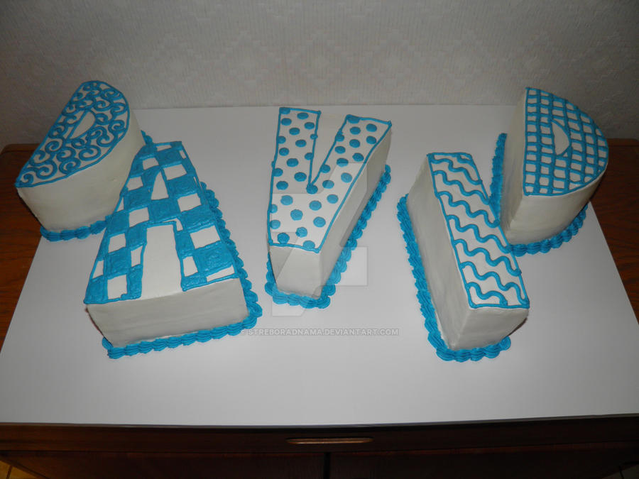 Cake Name Art : Name Cake - David 2 by streboradnama on DeviantArt