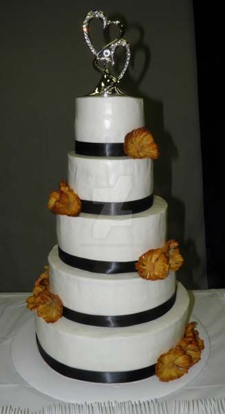 pineapple wedding cake pineapple wedding cake by streboradnama on deviantart 18525