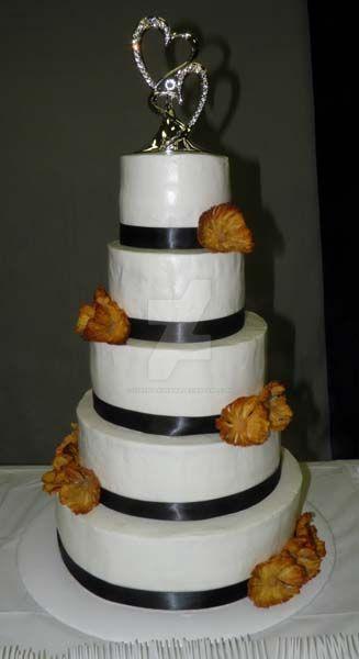 Pineapple Wedding Cake by streboradnama