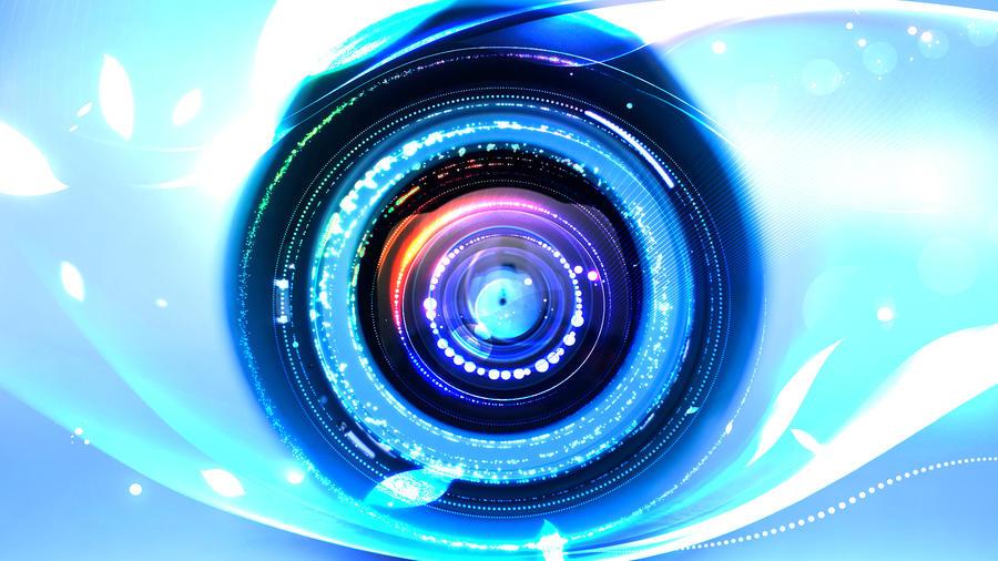 Camera Lens by KitsuneWuBaku