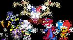 My Favorite Clowns by richsquid1996