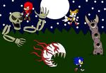 Team Sonic Vs Terraria Bosses