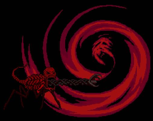 Red Vs Giygas (sprites)
