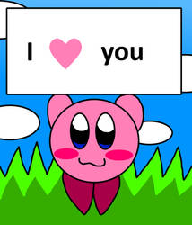 Kirby Loves You by richsquid1996