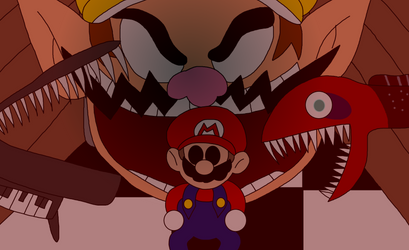 Wario Apparition - Every Copy Of Mario 64 Is Perso