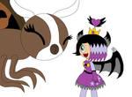 (bday Gift) Mothra And Dark Fairy