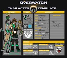 :: Overwatch OC :: Rudi Valentyne by Bowtie-Ninja