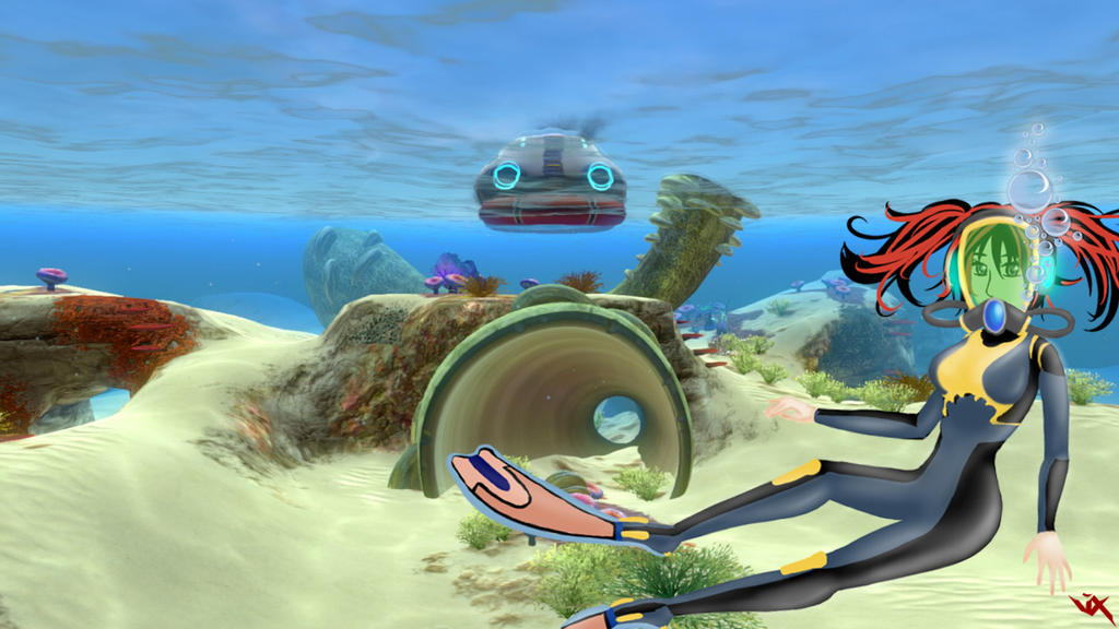 Subnautica Wallpaper 1 by Vixtronic on