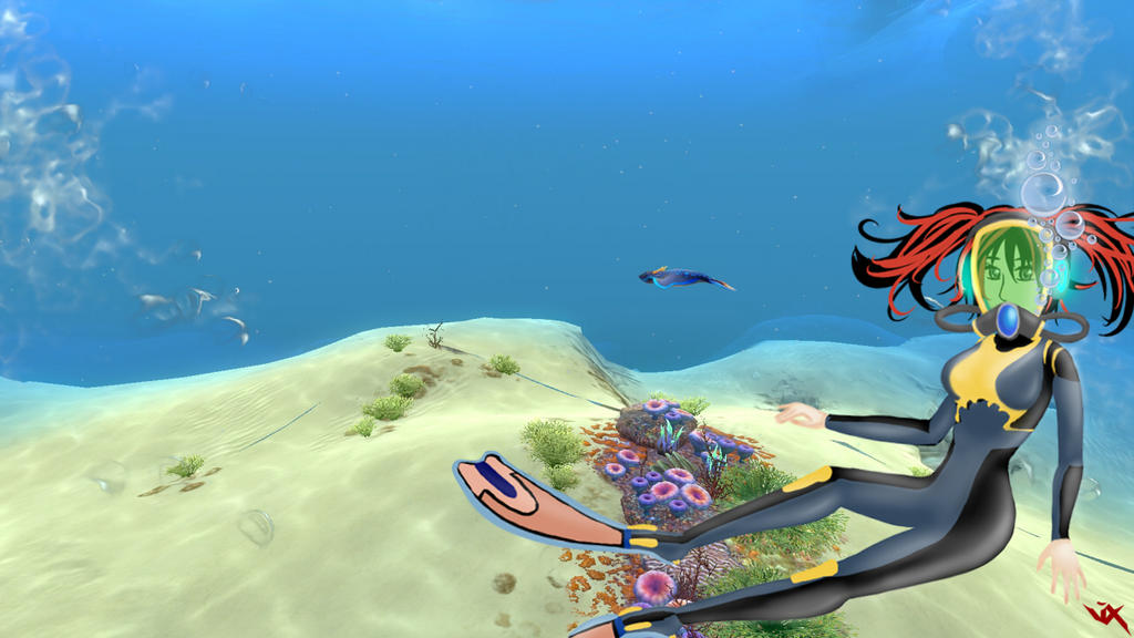 Subnautica WallPaper 2 by Vixtronic on