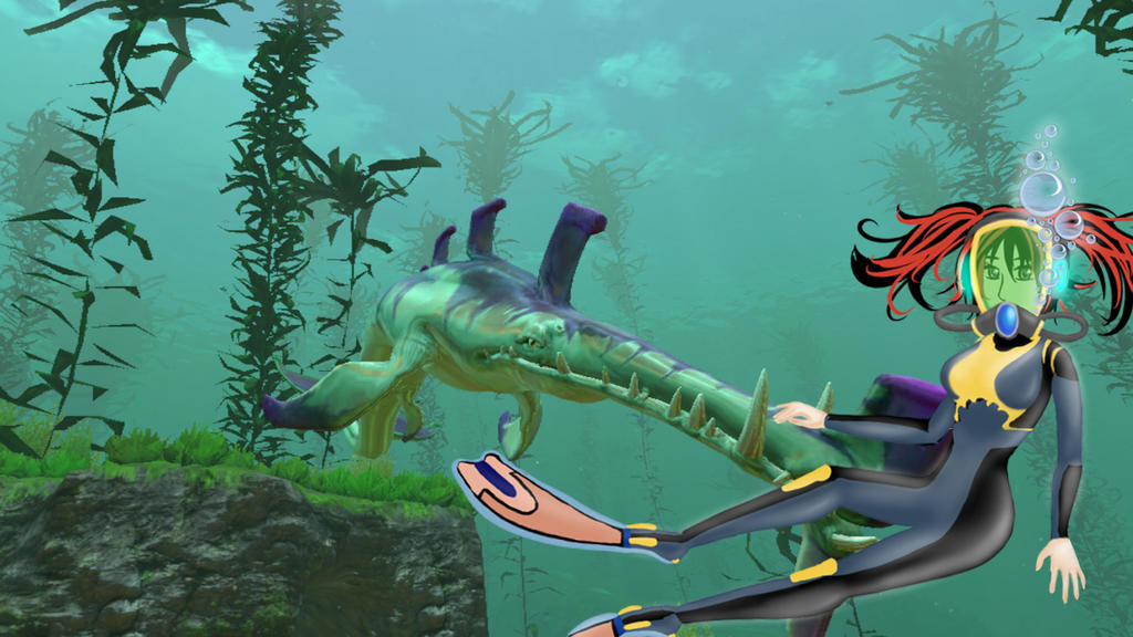 Subnautica WallPaper 4 by Vixtronic on