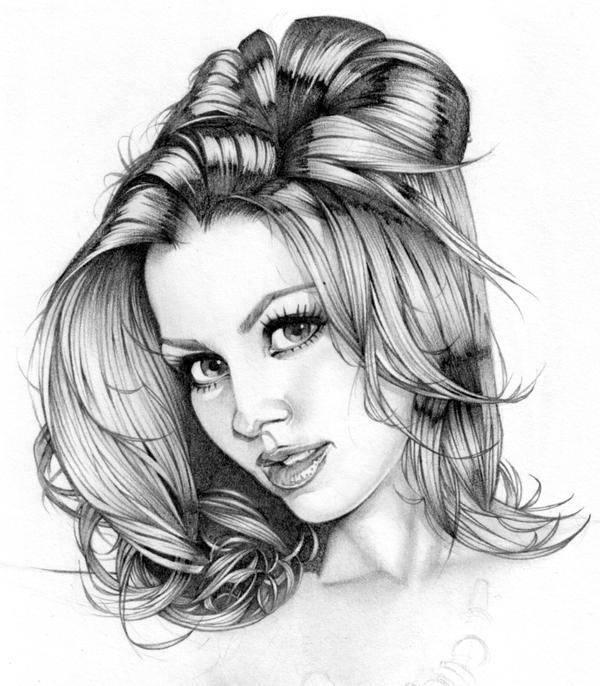 Laura Dore Pencil Exercise by MarcoGuaglione on DeviantArt