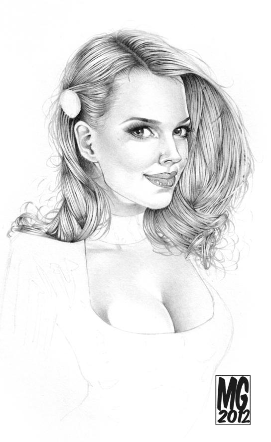 Ancilla Tilia Sketch by MarcoGuaglione