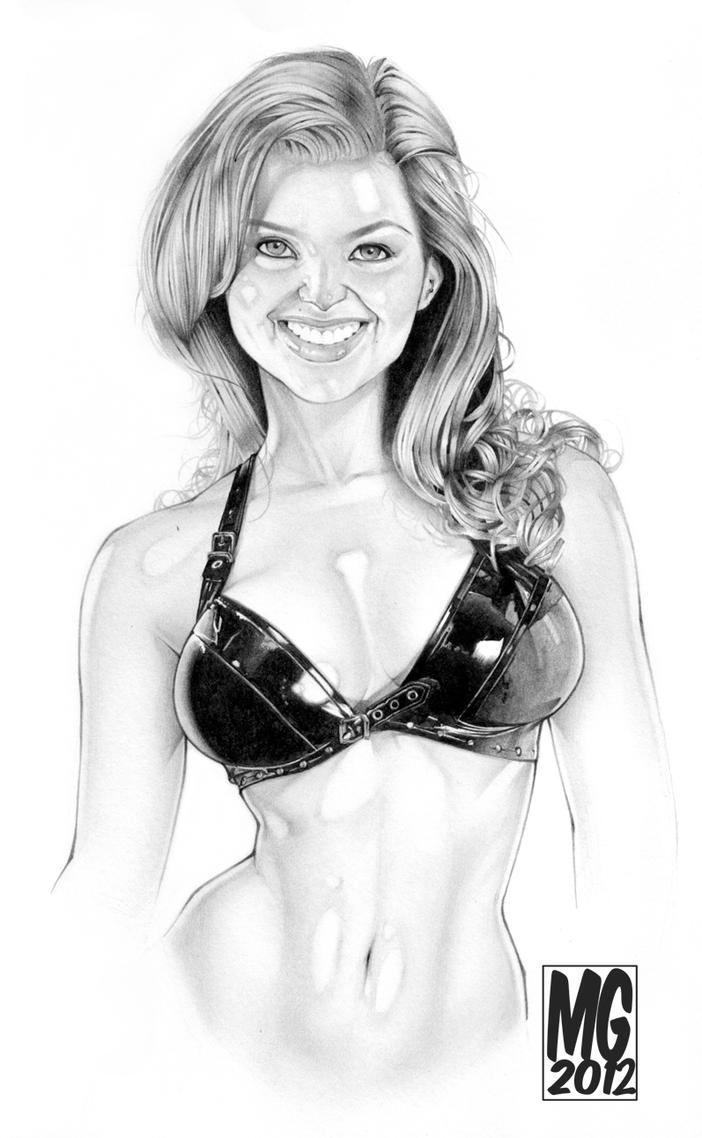 Stephy C - Pencil Sketch by MarcoGuaglione