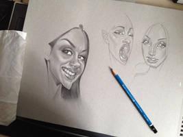 Sunday Sketch_2 by MarcoGuaglione