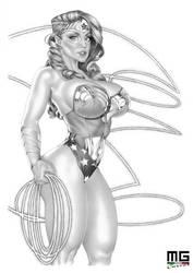 Wonder Woman by MarcoGuaglione