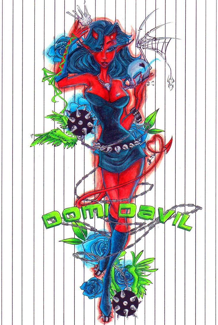 Domi Davil Colors by Vashtastic