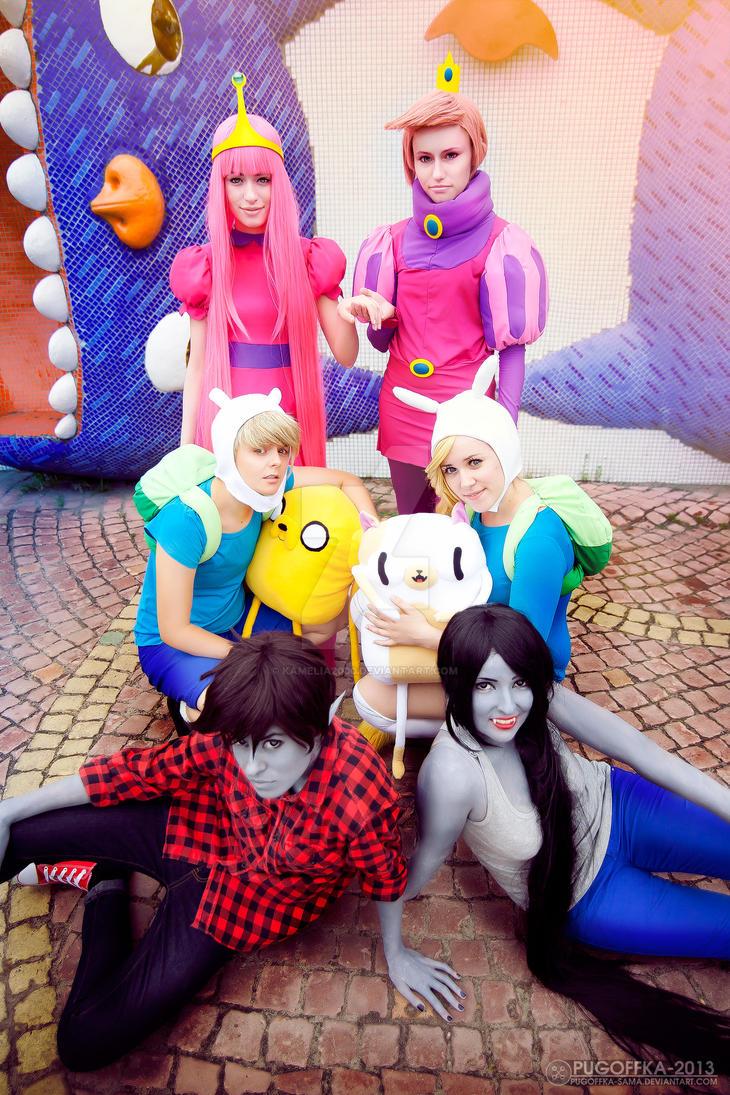 Adventure time! by Kamelia2000