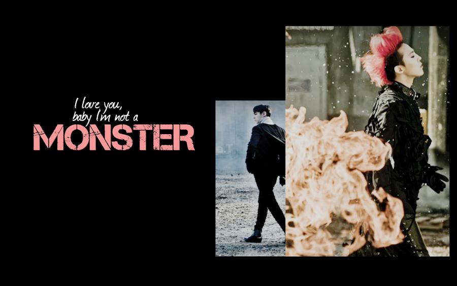 BIGBANG - MONSTER WALLPAPER by Ekumimi