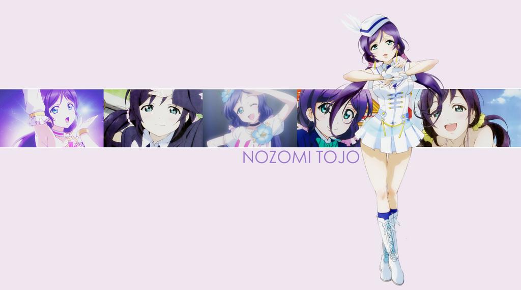 [WALLPAPER] LoveLive! - Nozomi Tojo by Ekumimi on DeviantArt