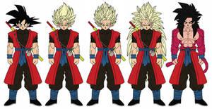 Xeno Goku by JacenWade