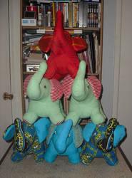 Elephant Pyramind 014 by carouselfan