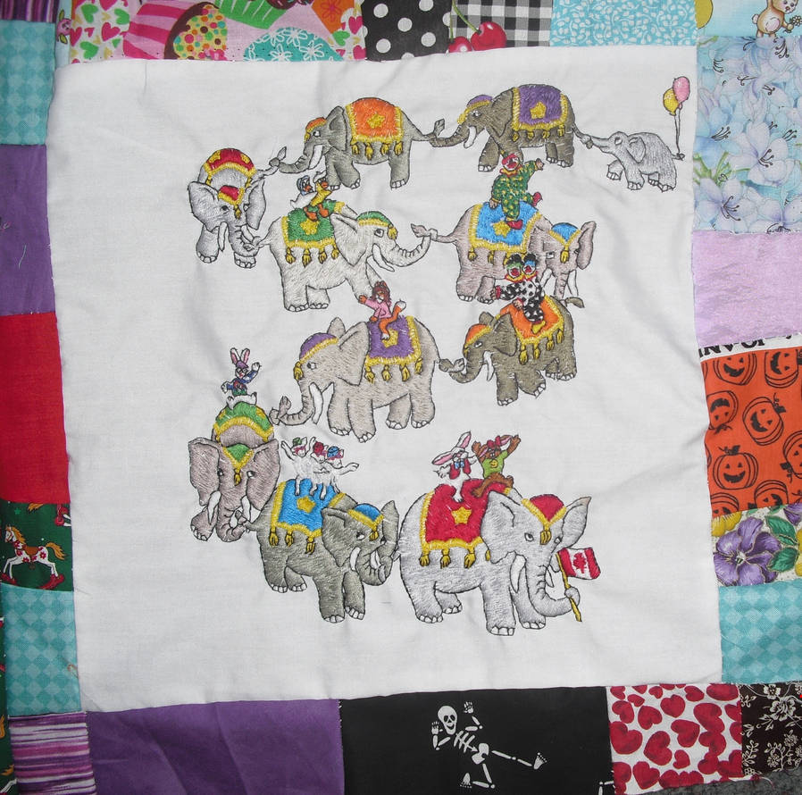 Elephant Parade by carouselfan