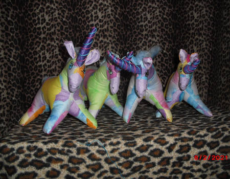 Easter Pastel Unicorns