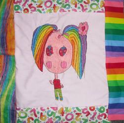 Rainbow-Haired Charlotte
