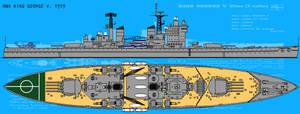 HMS King George V. 1979