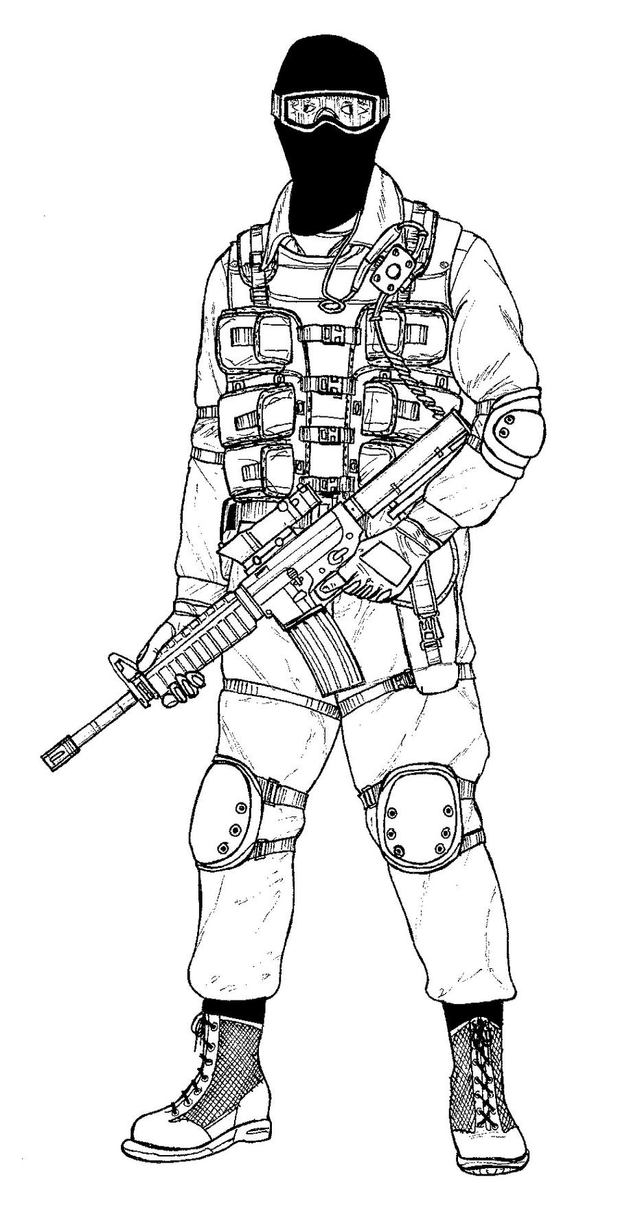 Generic SWAT Operator by linseed on DeviantArt