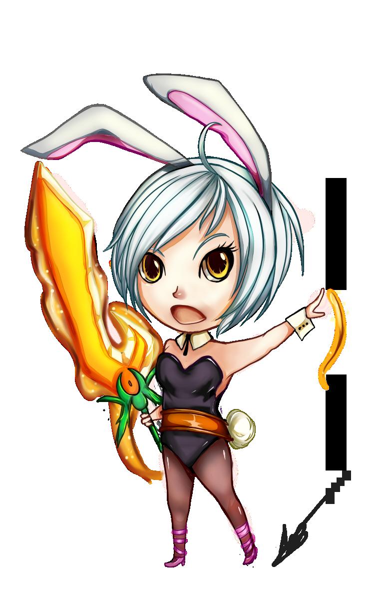 of chibis battle bunny riven by upnova watch fan art digital art ...Bunny Riven Fan Art