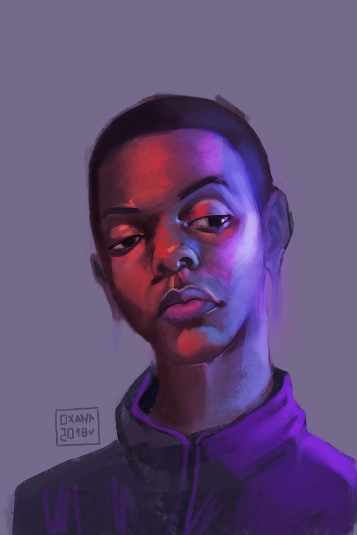 Portrait practice by Upnova