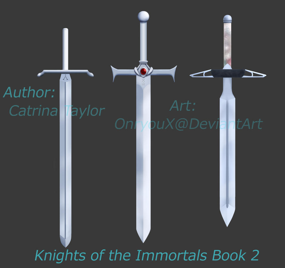 Knights of the Immortals Book 2 cover art promo by OnryouX