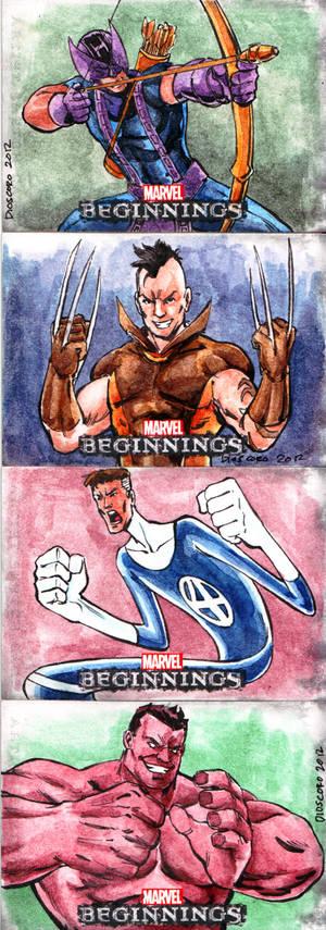 Marvel Beginnings 3 from Upper Deck_2